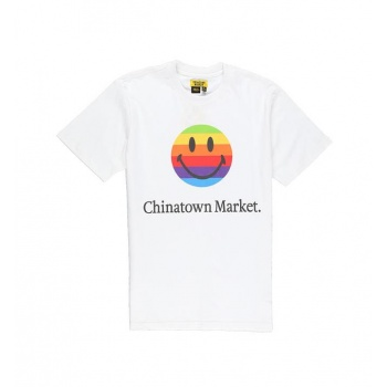 CHINATOWN SMILEY APPLE TEE...