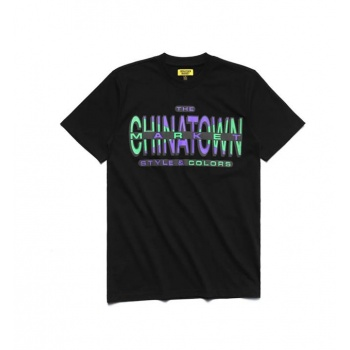 CHINATOWN CROSS COLORS TEE...