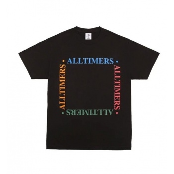 ALLTIMERS BOX EM OUT TEE NEGRO