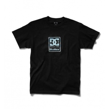 DC X BG BADGE TEE NEGRO