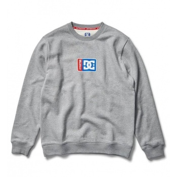 DC X BG BLOCK SWEAT GRIS