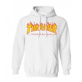 THRASHER FLAME LOGO HOODIE...