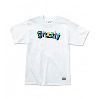 GRIZZLY TO THE MAX TEE BLANCO