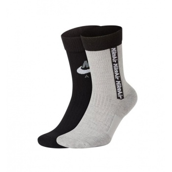 NIKE SNKR SOX CREW 2 PACK...