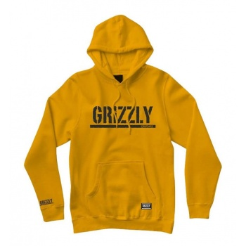 GRIZZLY OG STAMP HOODIE...