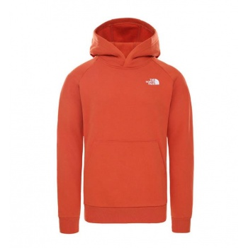 THE NORTH FACE M RAGLAN RED...