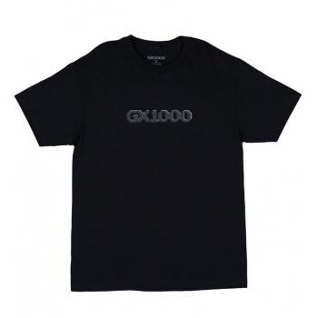 GX1000 DITHERED LOGO TEE NEGRO