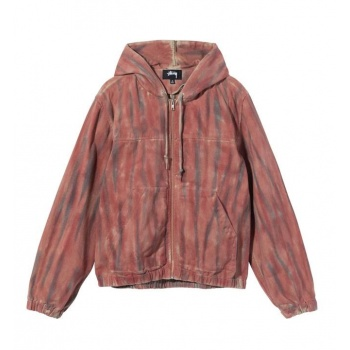 STUSSY DYED WORK JACKET