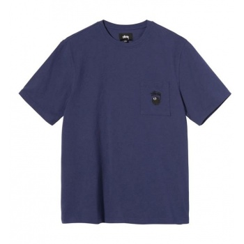 STUSSY 8 BALL POCKET TEE...