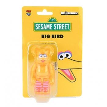BEARBRICK SESAME BIG BIRD 100%
