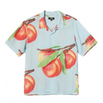 STUSSY PEACH PATTERN SHIRT