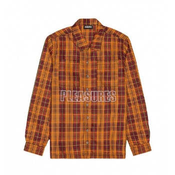 PLEASURES SHADE PLAID SHIRT