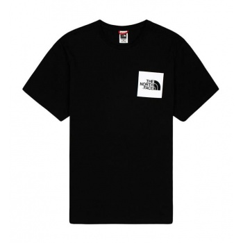 THE NORTH FACE FINE TEE NEGRO