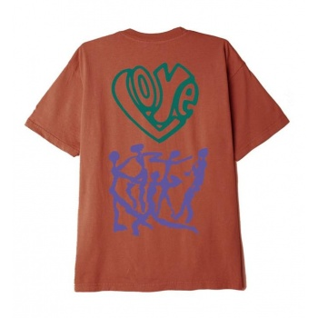 OBEY LOVE OVER HATE TEE