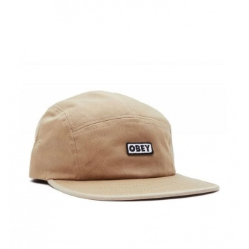 OBEY BOLD LABEL CAMP HAT